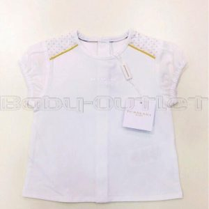 BURBERRY T-SHIRT NEONATA